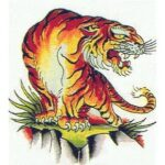 Tiger Tattoo Designs Volume-3