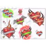 Heart Tattoo Designs Volume-7