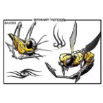 Insect Tattoo Design Volume-1