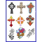 Cross Tattoo Designs Volume-1